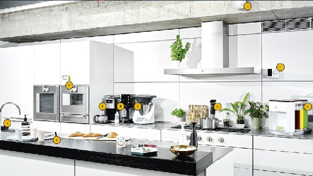 The connected kitchen in the near future
